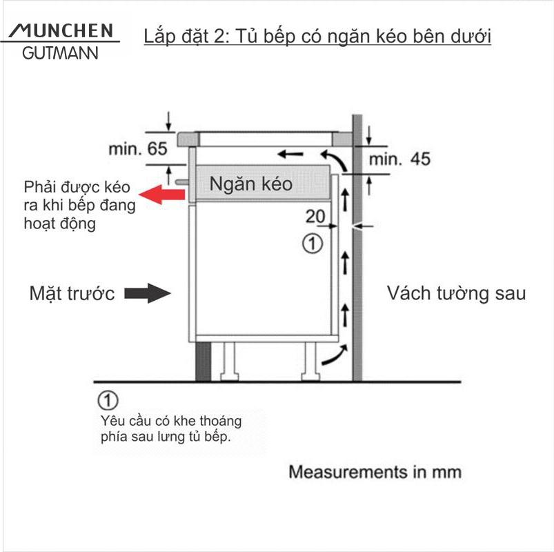Bếp cảm ứng điện từ GM 5860 ( Dòng sản phẩm Platin - Đức )