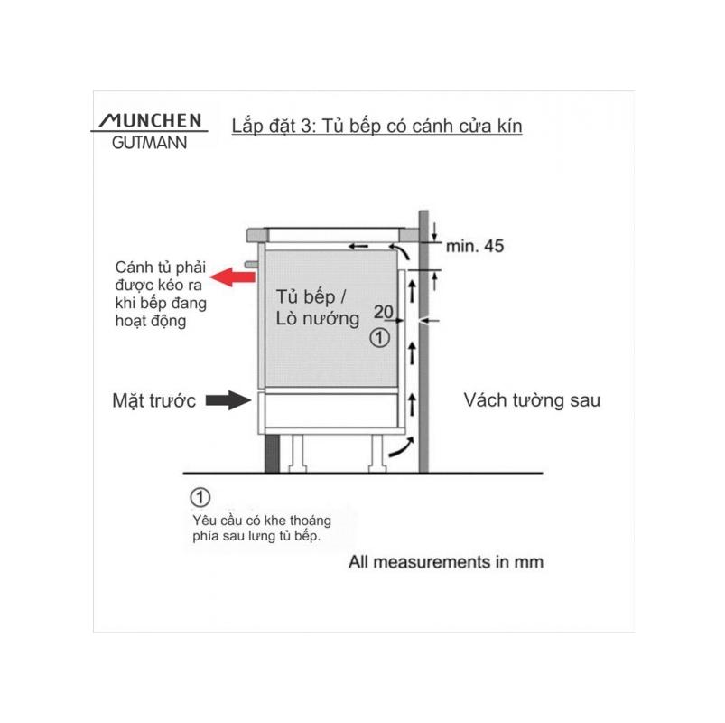 Bếp cảm ứng điện từ GM8642 hyb ( Dòng sản phẩm Special - Italy )